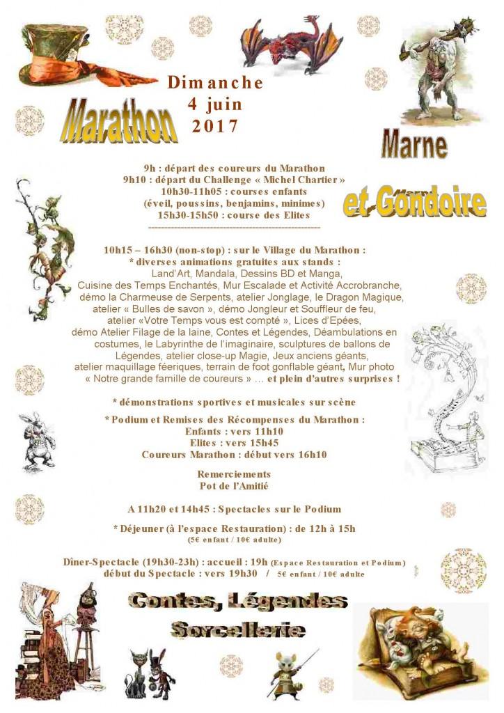 Affiche Communication 0306 Programme Marathon 2017